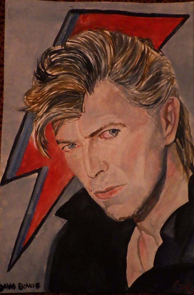 David Bowie by g1adina87